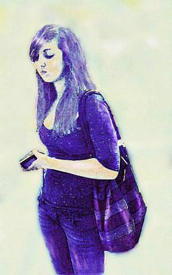 Bipolar Digital Art - Kind Of Blue by Jane Schnetlage