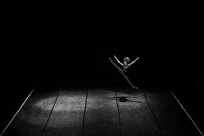 Shadow Dancing Photograph - Kinetic by Nemanja Jovanovic