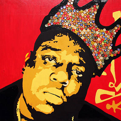 Liquor Mixed Media - King Big by Voodo Fe Culture