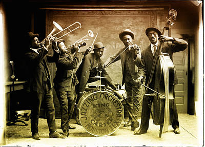 Carter Photograph - King Carter Jazzing Orchestra by Bill Cannon