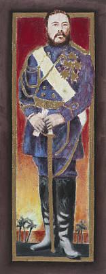 King David Kalakaua Original by Alan Fine