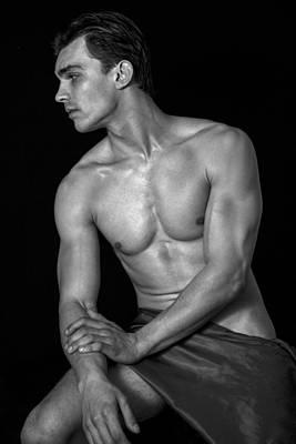 Male Digital Art - king David son  by Mark Ashkenazi