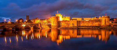 King John's Castle On The River Shannon Print by Pierre Leclerc Photography