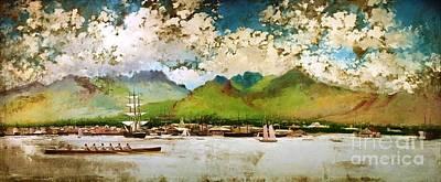 U.s.pd Painting - King Kalakaua Jubilee by Pg Reproductions