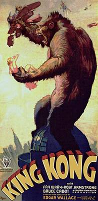 Fay Photograph - King Kong  by Movie Poster Prints