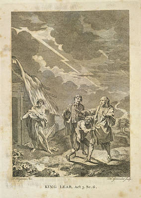 King Lear Print by British Library