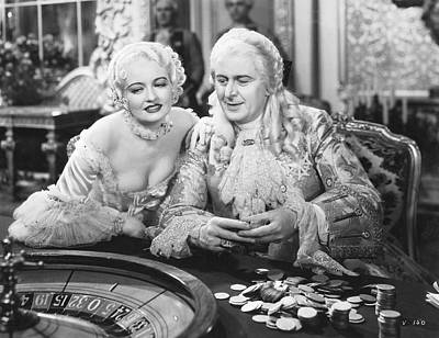 Actor Photograph - King Louis Xv Gambling by Underwood Archives