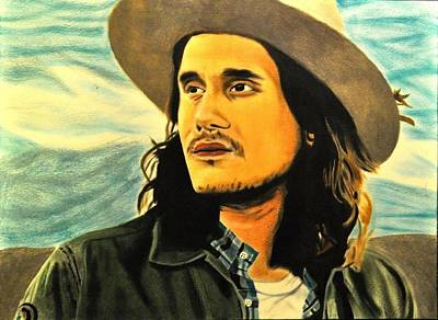John Mayer Painting - King Of California by Hunter Pope