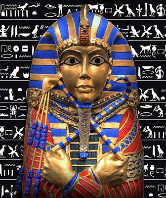 King Of Egypt Print by Daniel Hagerman