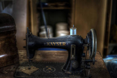 King Of Sewing Machines Print by Nathan Wright