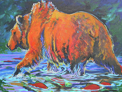 Painting - King Of The Fishes by Jenn Cunningham