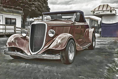 King Of The Road II Print by Ron Roberts