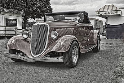 King Of The Road Print by Ron Roberts