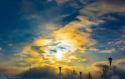 Carlos Ruiz Painting - Kingdom Of Heaven by Carlos Ruiz