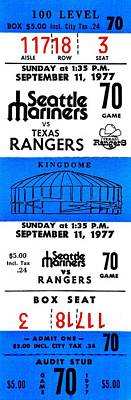 Kingdome Baseball Print by Benjamin Yeager