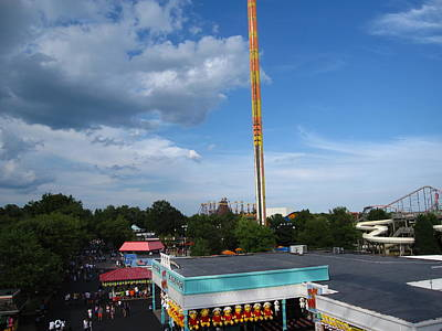 King Photograph - Kings Dominion - 12124 by DC Photographer