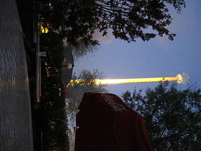 Park Photograph - Kings Dominion - Drop Tower - 12123 by DC Photographer
