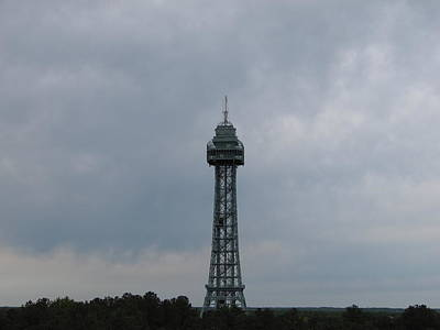 Virginia Photograph - Kings Dominion - Eiffel Tower - 01135 by DC Photographer
