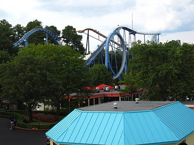 Shock Photograph - Kings Dominion - Shockwave - 12121 by DC Photographer