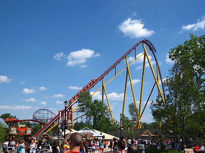 King Photograph - Kings Island - 12124 by DC Photographer