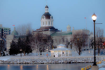 Kingston City Hall Print by Michel Soucy