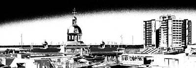 Kingston City Hall Print by Paul Wash