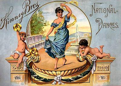 Artist Trading Cards Photograph - Kinney Bros National Dances by Studio Artist