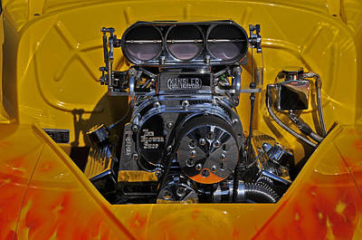 Kinsler Fuel Injection Print by Mike Martin