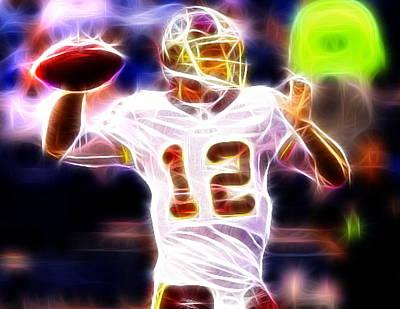 Redskins Mixed Media - Kirk Cousins Washington Redskins by Paul Van Scott