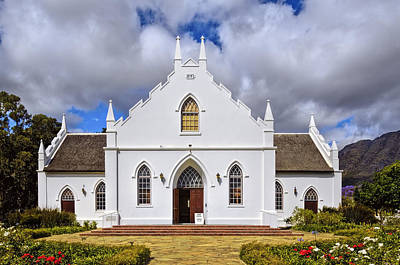 Kirstenbosch Church Print by Maria Coulson