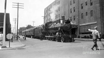 Kishacoquillas Valley Railroad, 1937 Print by Hagley Archive