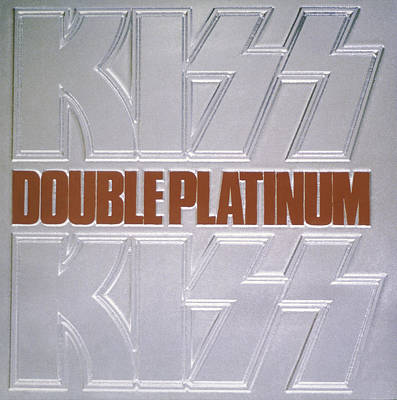 Kiss - Double Platinum Print by Epic Rights