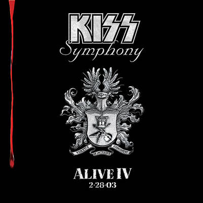 4 Aces Photograph - Kiss - Kiss Symphony: Alive Iv by Epic Rights