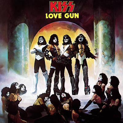Heavy Metal Photograph - Kiss - Love Gun by Epic Rights