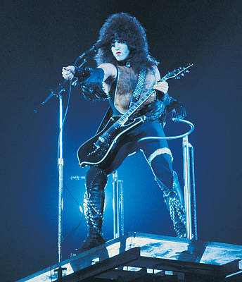 Kiss - Paul Stanley 1977 Print by Epic Rights