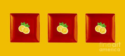 Lemon Digital Art - Kitchen Art - Citrus Lemon by Aimelle ML