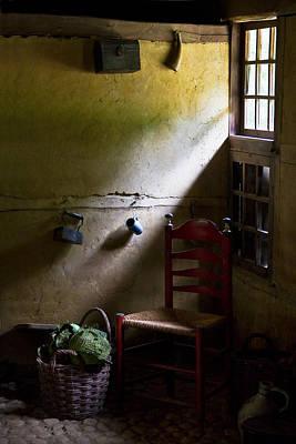 Farmhouse Photograph - Kitchen Corner by Dave Bowman