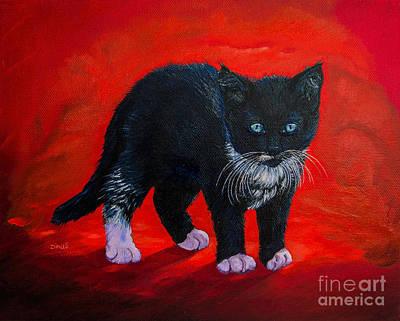 Kitten Original by Zina Stromberg