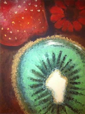 Kiwi Print by Corbin Runnels