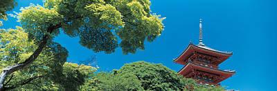 Kiyomizu Temple Kyoto Japan Print by Panoramic Images