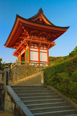 Buddhist Photograph - Kiyomizudera Temple by Sebastian Musial