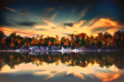 Charles Digital Art - Klondike Moody Autumn by Bill Tiepelman