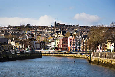 Lee Winter Photograph - Kneeling Canoe, River Lee, Cork City by Panoramic Images
