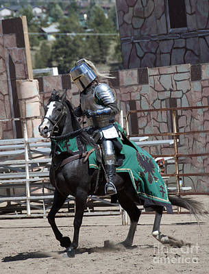 Athletic Sport Photograph - Knight In Shining Armor by Juli Scalzi