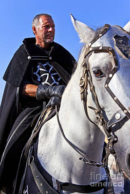 Historical Re-enactments Photograph - Knight  by Jose Elias - Sofia Pereira