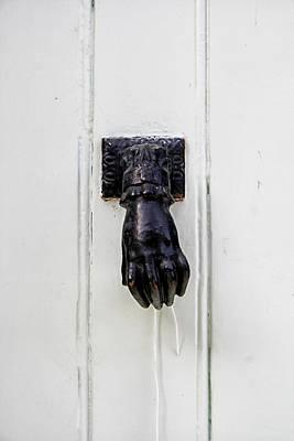 Knock Knock Print by Georgia Fowler