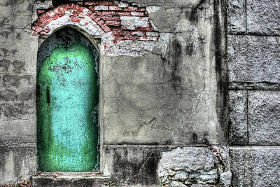 Knock Knock Print by JC Findley