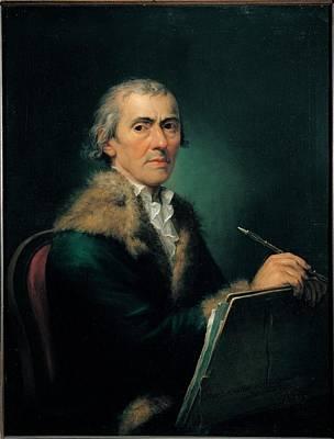 Self Portrait Photograph - Knoller Martin, Self-portrait, 1803 by Everett