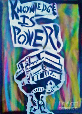 Knowledge Is Power 5 Original by Tony B Conscious
