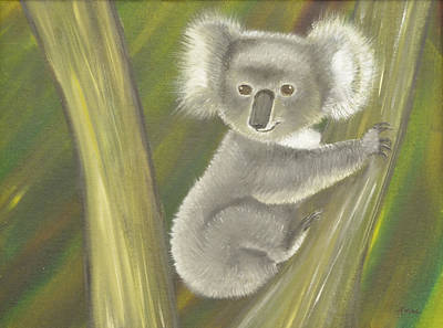 Koala Painting - Koala by Teresa French McCarthy